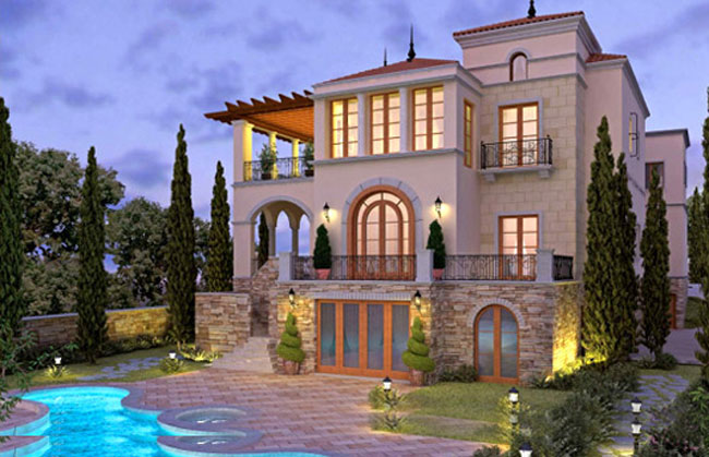 Hampton homes dubai real estate services property Style house fashion trading company uae